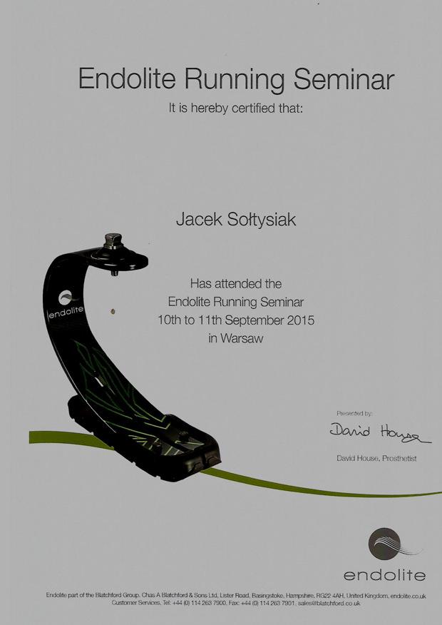 endolite running seminar cerifitied