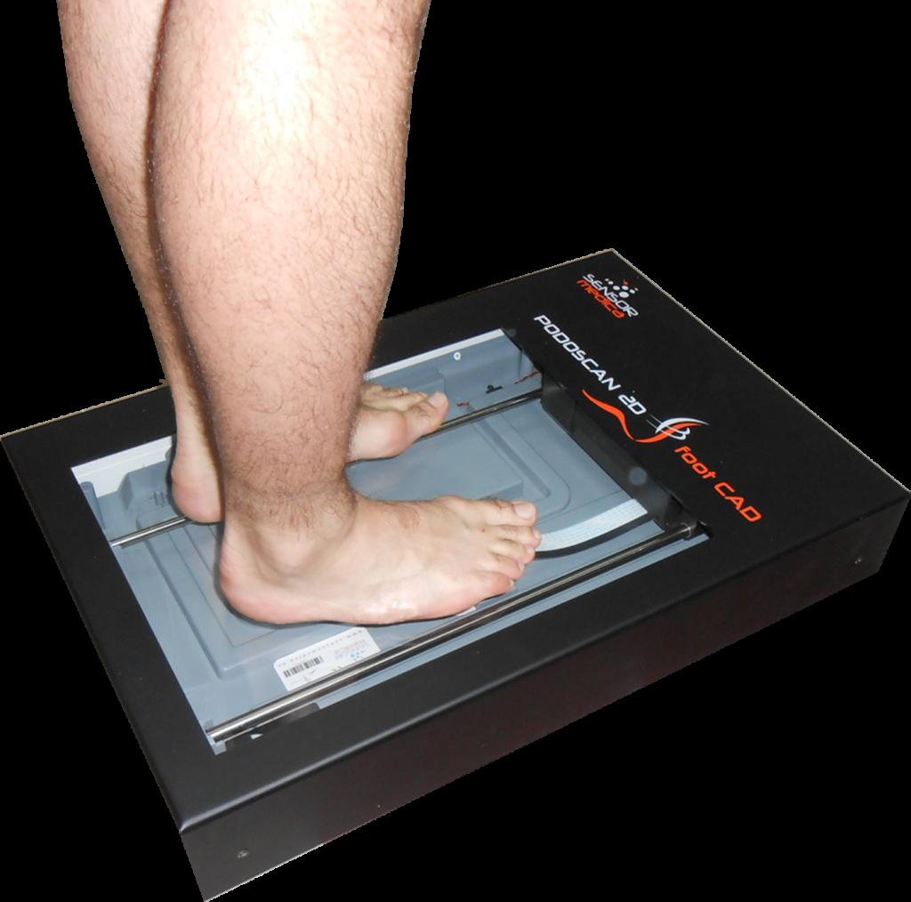 podoscan 2d foot cad